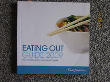 weight watchers food eating out and takeaway guide pure points system 2009