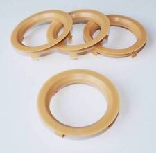 x4 Spigot Rings 70.1mm for Dezent Alloys to fit VW Golf MK4 MK6 MK6 MK7