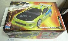 Amt Ertl FAST & FURIOUS 1995 Mitzubishi Eclipse 1:25 Skill 2 Model Kit #31983 SH2