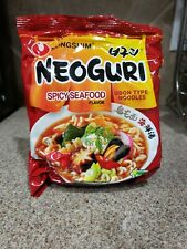 NongShim Neoguri Spicy Seafood Udon Noodles (Pack of 4)  - US Seller