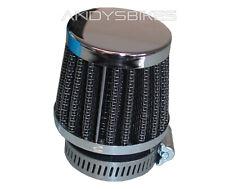 Universal 34 Mm - 35 mm de rendimiento de alimentación Cónico Racing Filtro de aire de carreras Slip On