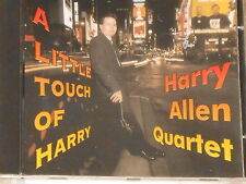 HARRY ALLEN QUARTET -A Little Touch Of Harry- CD