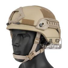 Emerson Tactical ACH MICH 2000 TC-2000 Helmet Advanced w/ NVG Shroud & Side Rail