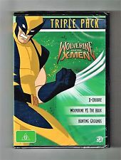 Wolverine And The X-Men Triple Pack DVD - Brand New & Sealed