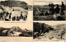 MILITARY IN ALPS CHASSEURS ALPINS 26 CPA pre - 1940