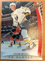 UPPER DECK 2011-2012 SERIES ONE CANVAS TYLER MYERS HOCKEY CARD C-13