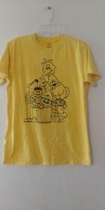 Sesame Street (Sm) Yellow T Shirt