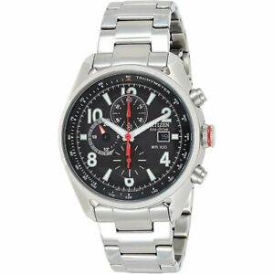 Citizen Men's Eco-drive Chronograph Stainless Steel Watch CA0368-56E RRP £249.00