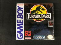 Jurassic Park (Nintendo Game Boy, 1993) Brand New Factory Sealed