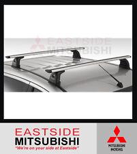 NEW GENUINE MITSUBISHI MQ TRITON CROSS BAR ROOF RACKS 1/2015 - CURRENT MZ314846