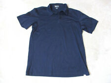 BMW Lifestyle Polo Shirt Adult Extra Large Navy Blue Auto Car Racer Rugby Mens