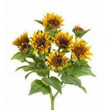 FBS456-YE 22 in. Yellow Sunflower Bush X9- Case of 4