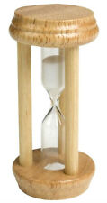 Three Minute Timer Traditional Wooden Egg Timer  3 Minute Egg Timer Chef Aid