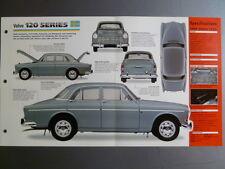 "1956 - 1970 Volvo 120 Series IMP ""Hot Cars"" Spec Sheet Folder Brochure #5-63"