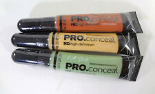 L.A.Girls Pro .Conceal 3 Pack (Green, Orange & Yellow Correctors) 0.28oz ea{Hb-L