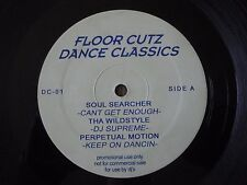"FLOOR CUTZ DANCE CLASSICS 12"" VINYL EP VARIOUS ARTISTS SOUL SEARCHER, DJ SUPREME"