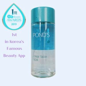 Pond's Clear Face Spa Lip & Eye Makeup Remover Oil Korea Beauty Cleanser 120ml