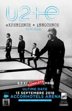 2 Billets Concert U2 Paris le 12 septembre 2018 CATEGORIE 1 BALCON G