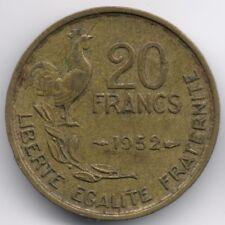 France : 20 Francs 1952 - 4 Plumes