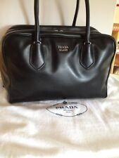 NWT PRADA Black Leather INSIDE BAG 1BB009 RRP €2600