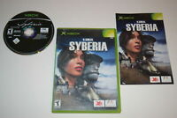 Syberia Microsoft Xbox Video Game Complete