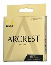 Brand New Unused Nikon Arcrest Protection Filter 67mm AR Coat NC Protector