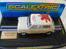 Scalextric C2980 HMC UK Festival de ranura de coche Mini Cooper-UKSF Ltd Ed 10/120