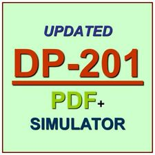 Latest DP-201 Verified Practice Test Exam QA SIM PDF+Simulator