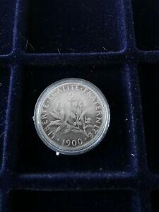 2 francs semeuse argent 1900