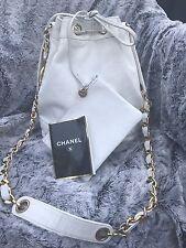 Chanel Lamb Skin Bucket Bag Beautiful Condition REDUCED AGAIN