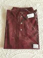 Lowcountry Merlot Men's Shirt With Collar Size L Brand New