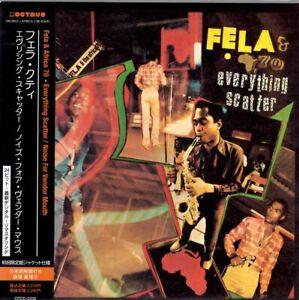 FELA KUTI EVERYTHING SCATTER/NOISE FOR VENDOR JAPAN MINI LP CD OTCD 2235 SEALED