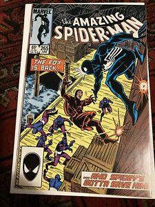 amazing spiderman #265 1st Print