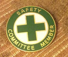 Safety Committee Member Badge