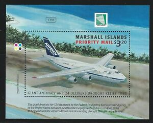 Marshall Islands Sc 678 Antonov An-124 Delivering Drought Relief Supplies