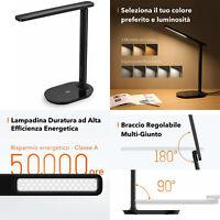 Lampada Scrivania LED TaoTronics, Tavolo, per Ufficio Dimmerabile Controllo Touc