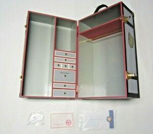 RARE! Retired Franklin Mint I LOVE LUCY Wardrobe Steamer Trunk Mertz & Mertz