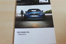 99129) BMW M5 F10 - Preise & Extras - Prospekt 07/2012