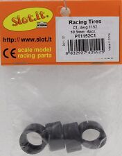 Slot It Sipt1152C1 C1 Rubber Slick Tires 19X10.5Mm 4 Pcs. New 1/32 Slot Car Part