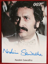 JAMES BOND - The Spy Who Loved Me - NADIM SAWALHA - as Fekkesh - Autograph Card
