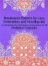 Renaissance Patterns for Lace and Embroidery ... by Vinciolo, Federico Paperback
