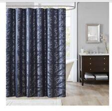 Madison Park Dante Jacguard Shower Curtain Navy Blue 72x 72-675716794620