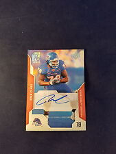 Ryan Clady #12 Boise State Upper Deck 2008 Autographed Rookie Card Broncos