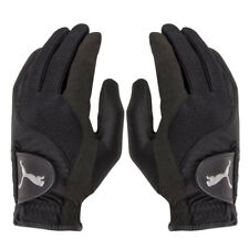 Puma Storm Performance Rain Gloves (Black, Men's Pair, Medium) New