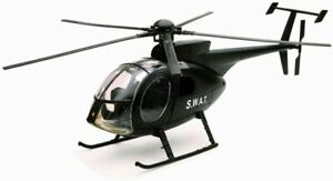 Model Helicopter Hughes NH-500 Forces Special Swat to the / Of 1/32