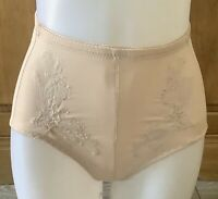 BEIGE HIGH WAIST INVISABLE GIRDLE//CONTROL KNICKERS SIZE 14//16 CLOSING DOWN SALE