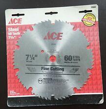 American Emblem Tool Ace Steel fine cutting Saw Blade (23555) 7-1/4 60T