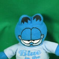 NEW GARFIELD BLUE IN THE FACE T-SHIRT TOY FACTORY PAWS PLUSH STUFFED ANIMAL TOY