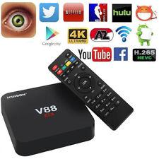 V88 RK3229 Quad Core 8GB Android5.1 Smart TV Box WiFi 4K HD 3D KODI Media Player