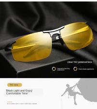 SET OF 2 PAIRS Day & Night Vision Polarized Sunglasses Driving Glasses Eyewear